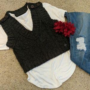 Hurley crop vest